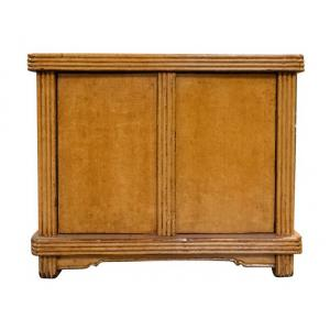 small cabinet 2 doors set of 2
