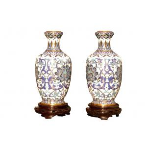 Vase Set von 2