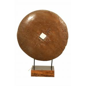 rueda de madera