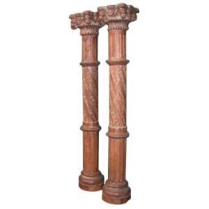 pillar set of 2