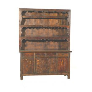 display case 4 doors/ 4 drawers