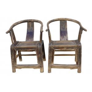 set de 2 chaises