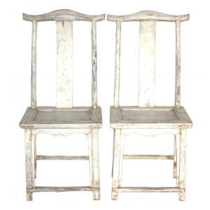 chaise set de 2