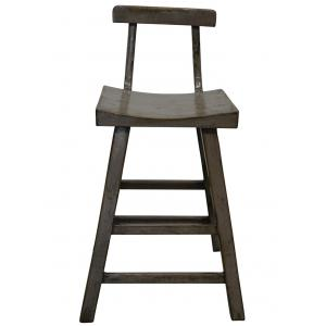 STOOL HIGH WITH BACK