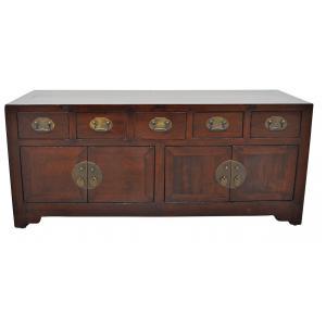 low sideboard 4 doors/ 5 drawers