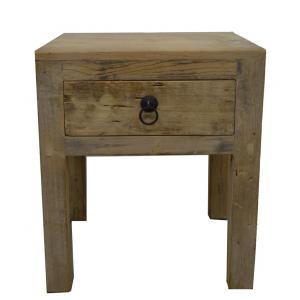 table de nuit avec un tiroir