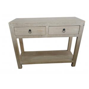 console with 2 drawers
