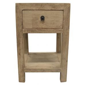 side table 1 drawer/shelf