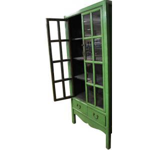 display case 2 doors/2 drawers